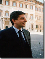 Honorable Minister Mario Landolfi, minister of communications for the Republic of Italy